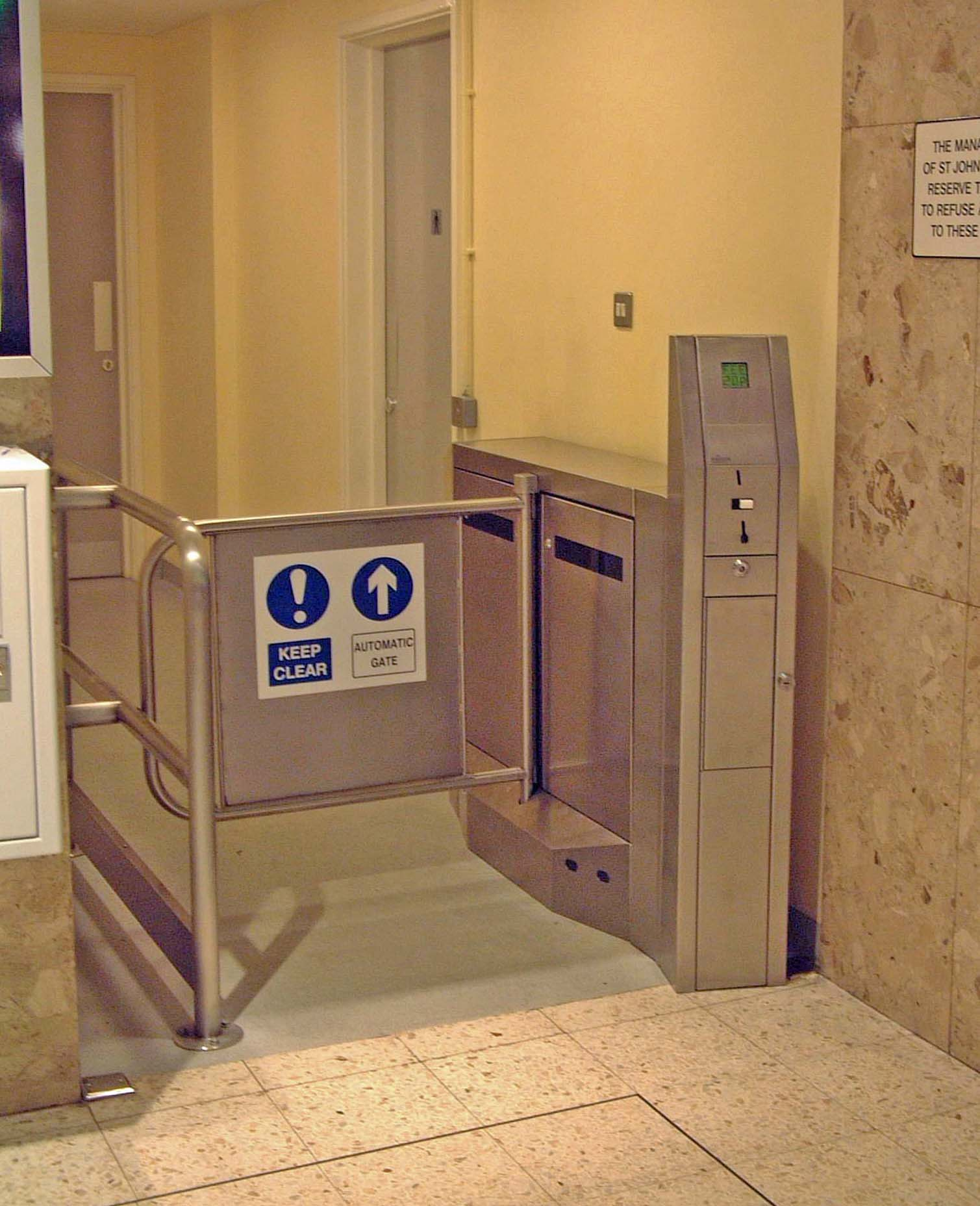 Coin Operated Gate